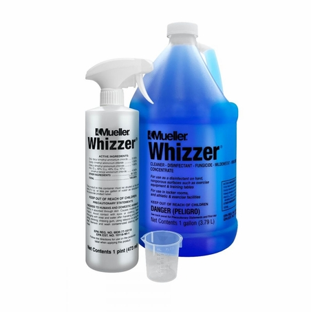 Mueller Whizzer Cleaner and Virocide Disinfectant - 1 Gallon (Makes 128 gallons)