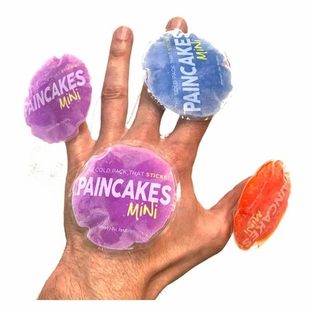 PAINCAKES Mini 2-Pack Stickable Cold Pack