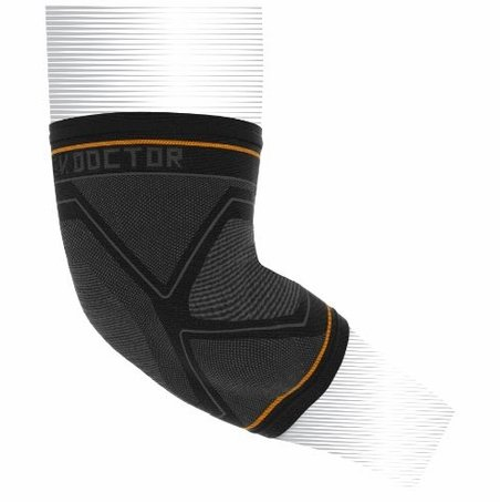 Shock Doctor 2028 Compression Knit Elbow Sleeve with Gel Support