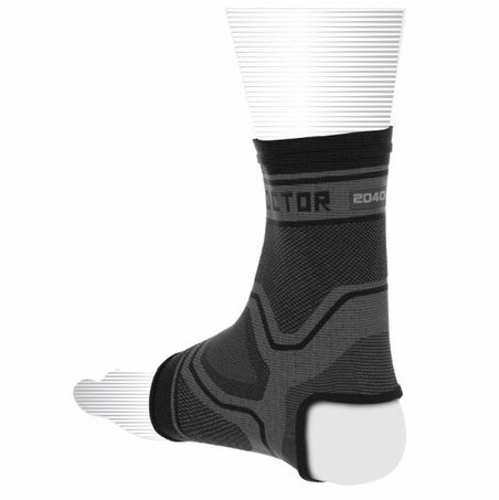 Clearance Shock Doctor 2040 Compression Knit Ankle Sleeve (Size XS and Small)