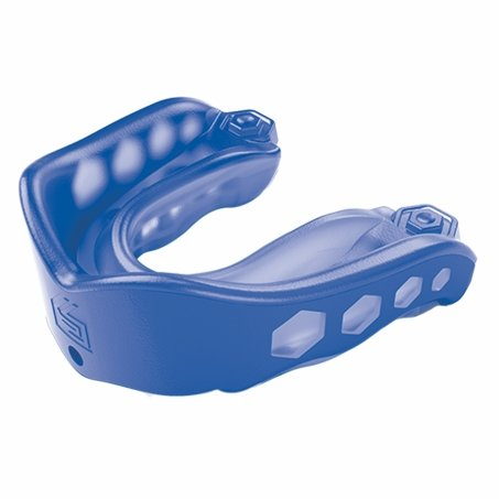 Shock Doctor Gel Max Converible Mouthguard - Blue