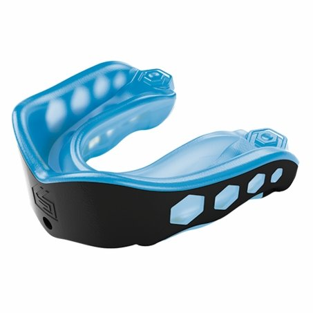 Shock Doctor Gel Max Convertible Mouthguard - Blue and Black Youth