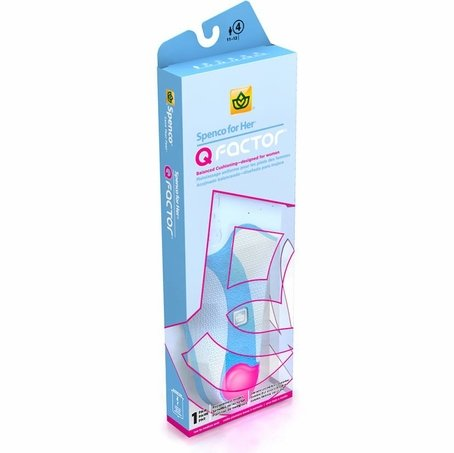 Spenco For Her - Q Factor Cushion Insoles Womans 3-4 Clearance