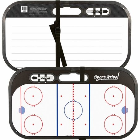 Sport Write Classic Ice Hockey with Strap and Hook Set