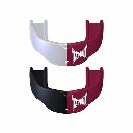 Tap Out Maroon Mouth Guard (2 pack) $30,000 Warranty