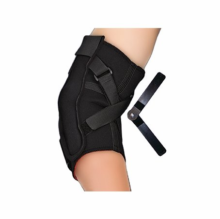 Thermoskin Black Hinged Elbow Hyperextension Prevention Brace