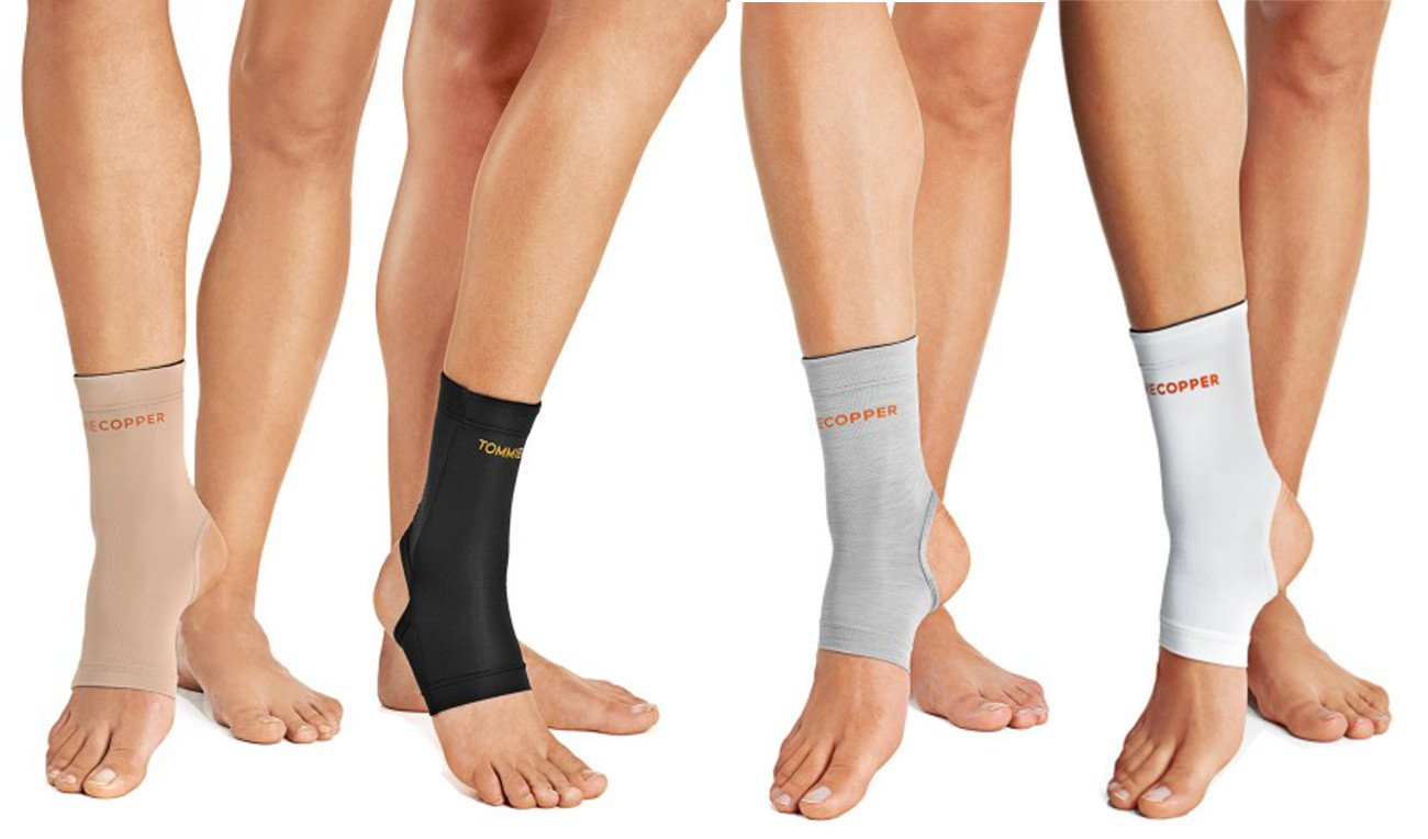fc40ae123a Tommie Copper Women's Compression Ankle Sleeve -- Free Shipping -- Ithaca  Sports
