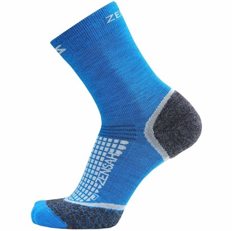 Zensah Grit Crew Running Socks - Size Small Clearance