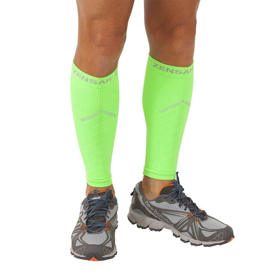 a0c66f0c47 Zensah Reflect Compression Leg Sleeves -- Free Shipping -- Ithaca Sports