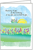 B104H - Thinking of You Birthday Anniversary Cards