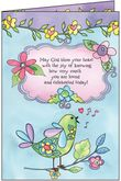 B1126C - God Bless You Birthday Card