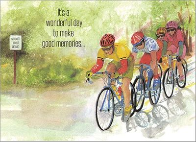 B4169 - Bikes Birthday Cards