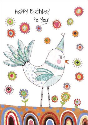 B9169 - Bird Birthday Cards