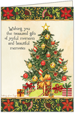 C3707 - Christmas Tree Cards