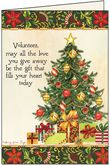 C3707V - Holiday Cards for Volunteers