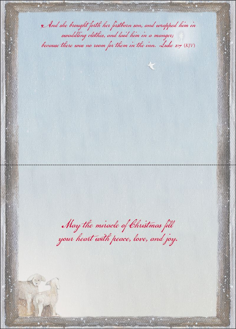 Holy Family Christmas Cards from it takes two, inc. - SKU ...