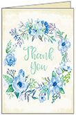 TU318 -  Floral Thank You Cards