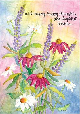 GWG508 - Flowers Get Well Cards