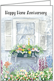 RE4464 - Home Anniversary Congratulations Cards
