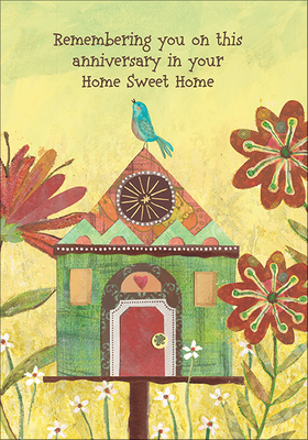 RE9472 - Home Sweet Home Anniversary Cards