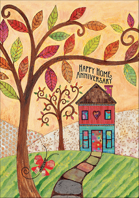 RE9473 - Happy Home Anniversary Cards