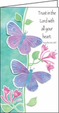 HPP142C - Butterflies Pocket Planner Reminds Us to Trust