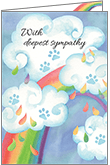 P1430 - Sadness Pet Sympathy Cards
