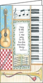 LPP168C - Musical Instruments to Give Praise Pocket Planner