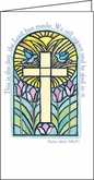 LPP184C - Stained Glass Window Pocket Planner