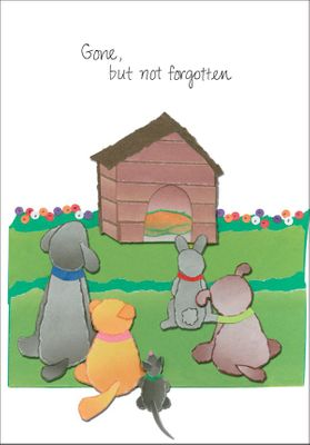 P409 - Pet Loss Condolence Cards