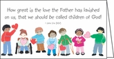 PP96C - Children Loved by the Father Pocket Calendar