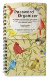 PWB01 - Colorful Birds Password Organizer