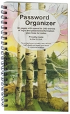 PWB04 - Peaceful Birches Password Organizer
