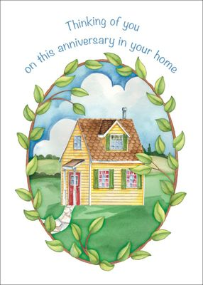 RE1451 - New Home Anniversary Cards
