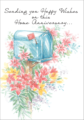 REM401 - Happy Wishes on Home Anniversary Cards