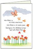 S203 - Butterflies Sympathy Cards