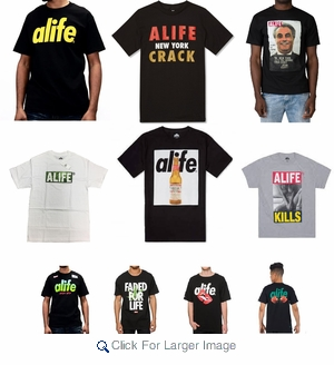 Alife Assorted Men's T-shirts - $5.00/pc - Assorted - Click to enlarge