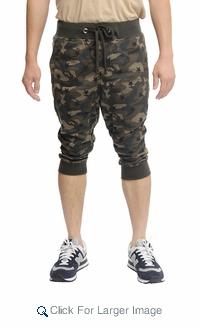 Victorious Bermuda Joggers - $12.50/pc - M-VCT-3366-OL - Click to enlarge