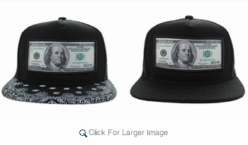 """Wholesale Assorted """"Benjamin"""" Embroidered Caps - A-JOY-0683-ASST - $5.50/pc - Click to enlarge"""