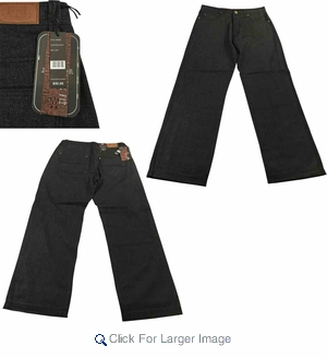 Wholesale Black Rinse Jeans - $13.50/pc - M-RNR-2600-BKBK - Click to enlarge
