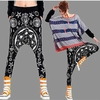 Wholesale Hip Hop Skate Dance Pants - Zodiak Print  - $10.50/pc