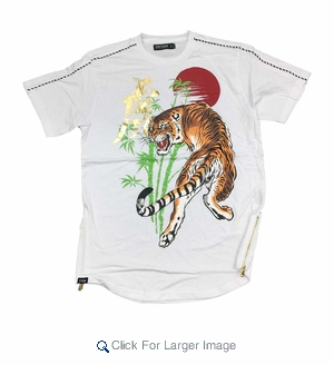 Wholesale Men's Better Tees w/ Tiger Design - $12.50/pc. - Click to enlarge