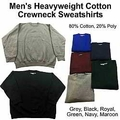 Wholesale Men's Heavyweight Baggy Fit Fleece Sweatshirts - $5.00/pc - M-TRO-1SWS