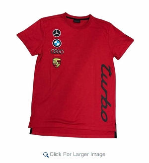 Wholesale Sportscar Premium Tees Turbo Vertical Rd - M-KRS-1TRVE-RD - Click to enlarge