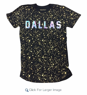 Wholesale Switch Team Splatter Premium Tees Dallas - M-SWI-1TMSP-DAL - Click to enlarge