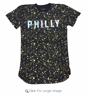 Wholesale Switch Team Splatter Premium Tees Philly - M-SWI-1TMSP-PHI - Click to enlarge