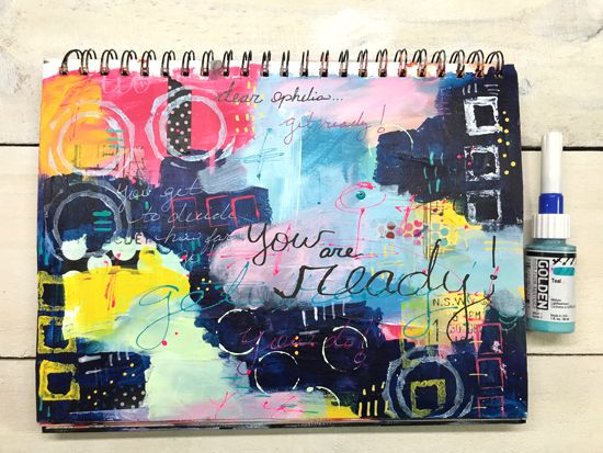 April 14 - Paper, Paint, Play with Ophelia Staton