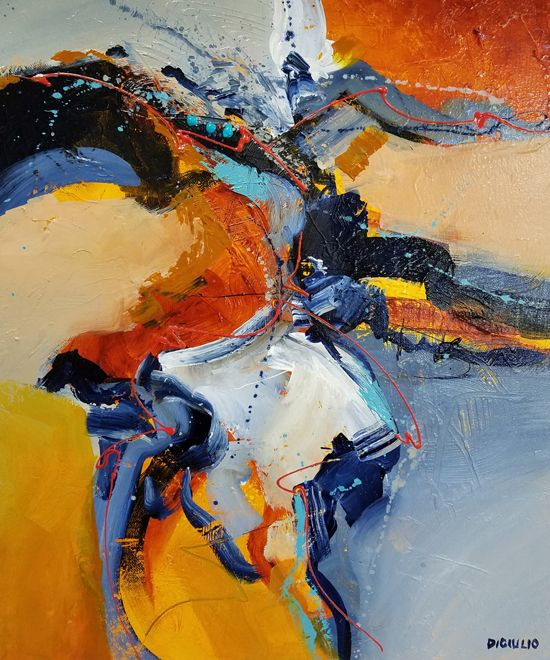 April 27 - Fearless Approach to Intuitive Painting with Joe DiGiulio