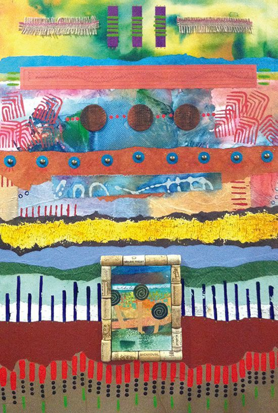 April 7 - Contemporary Printmaking and Collage with Sharon DiGiulio
