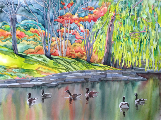 Dec 8 - Water Scenes and Landscapes with Suzanne Hetzel